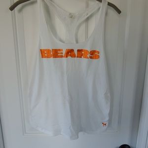 Chicago Bears lace racer back sleep tank
